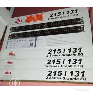 Dbx Single Equalizer Dbx-215   Audio & Music Equipment for sale in Lagos State, Ojo
