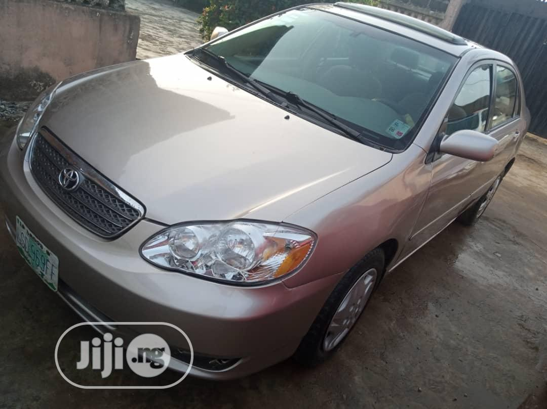 Toyota Corolla Le 2004 Gold In Ipaja Cars Fidex Ogheneakoke Jiji Ng For Sale In Ipaja Buy Cars From Fidex Ogheneakoke On Jiji Ng