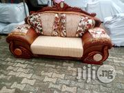 Royal Fabric and Leather Sofa Model Aw9191   Furniture for sale in Lagos State, Ikoyi