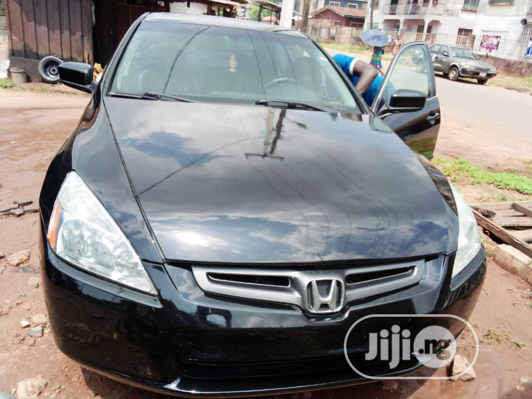 Honda Accord 2007 Sedan SE V-6 Automatic Black