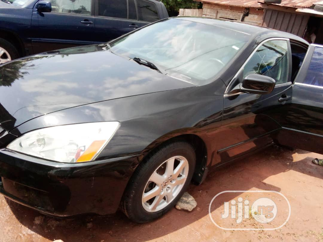 Honda Accord 2007 Sedan SE V-6 Automatic Black | Cars for sale in Benin City, Edo State, Nigeria