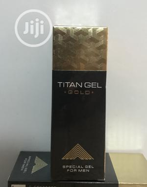 Longer and Thicker Penis: Titan Gel (Gold)   Sexual Wellness for sale in Abuja (FCT) State, Dakibiyu