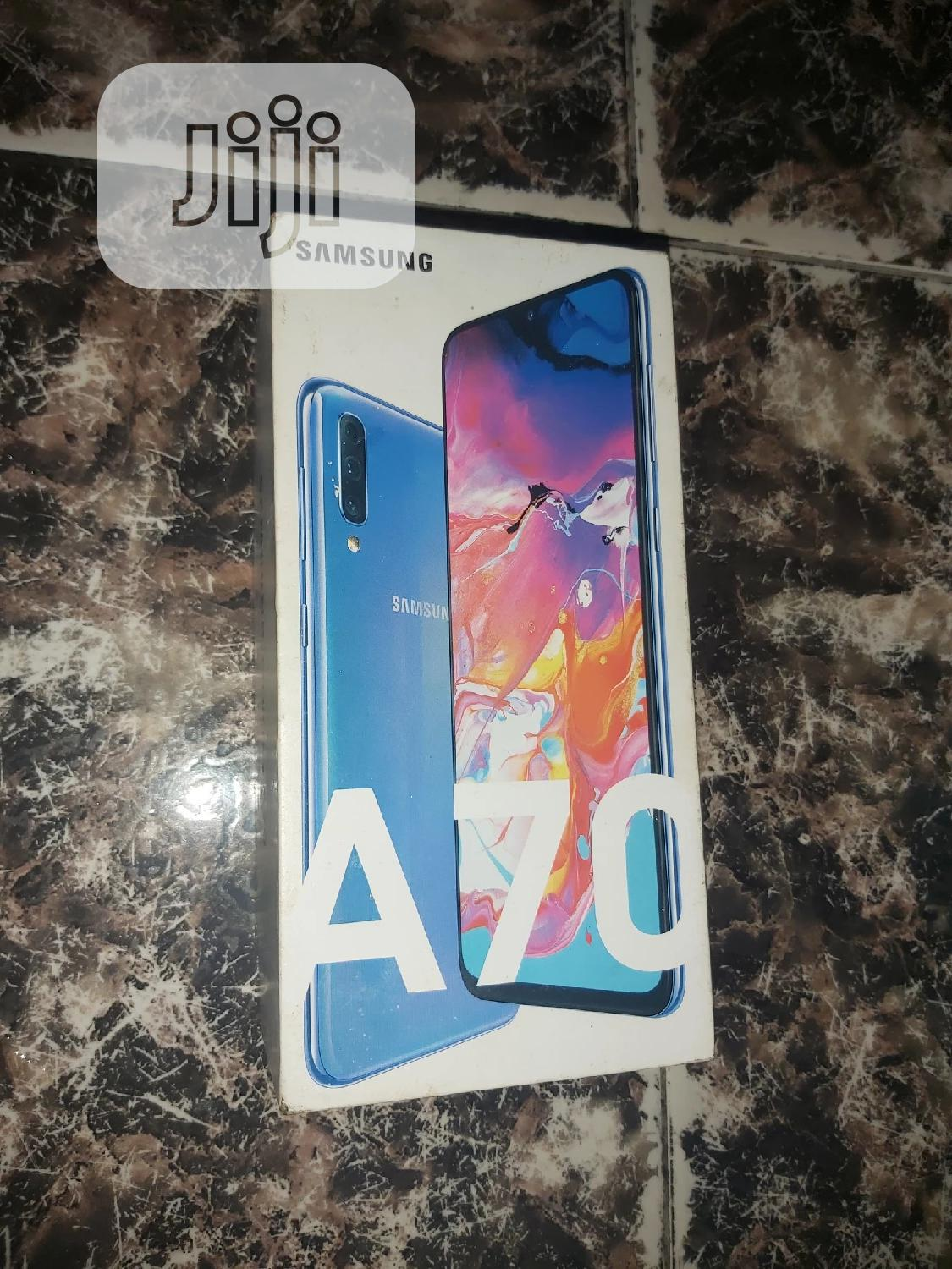 Samsung Galaxy A70 128 GB Blue | Mobile Phones for sale in Ojo, Lagos State, Nigeria