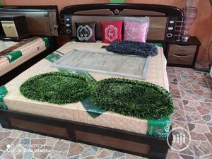 Standard Quality Bed With Mirror | Furniture for sale in Lagos State, Lekki