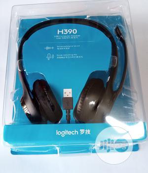 Logitech H390 Computer Headphones. Laptop Headphones   Headphones for sale in Lagos State, Ikeja