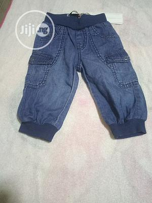 Uk Soft Jogger Jean Trouser For Baby 4 To 6m   Children's Clothing for sale in Lagos State, Yaba