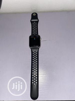 Apple Iwatch Series 3 42mm- Black. | Smart Watches & Trackers for sale in Lagos State, Ikeja