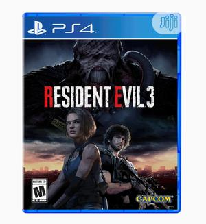 Playstation 4- Resident Evil 3 | Video Games for sale in Lagos State, Ikeja