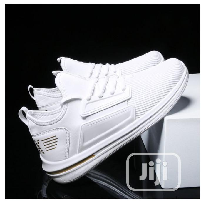 white classy shoes