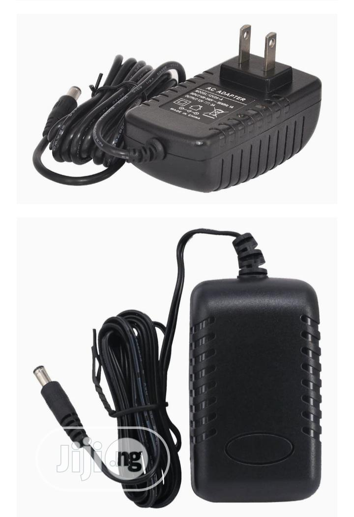 12 Volt 2A Power Adapter Supply AC To DC Power Supply
