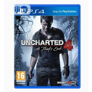 PS4 - Uncharted 4: A Thief's End   Video Games for sale in Lagos State, Ikeja