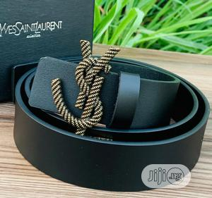 Top Quality Yves Saint-Laurent Leather Belt   Clothing Accessories for sale in Lagos State, Magodo