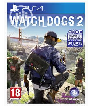 Playstation 4 - Watchdogs 2   Video Games for sale in Lagos State, Ikeja