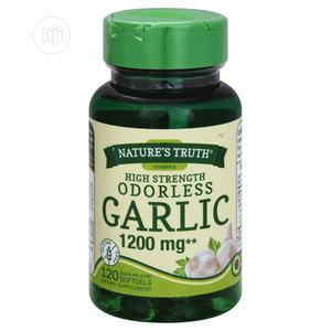 Nature's Truth High Strength Odorless Garlic 1,200 Mg - 120 | Vitamins & Supplements for sale in Lagos State, Amuwo-Odofin