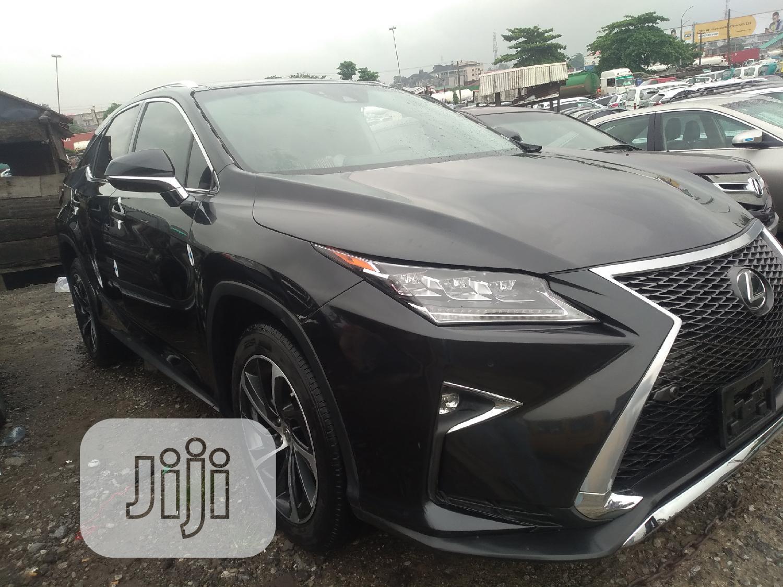 Lexus RX 2017 Black | Cars for sale in Apapa, Lagos State, Nigeria