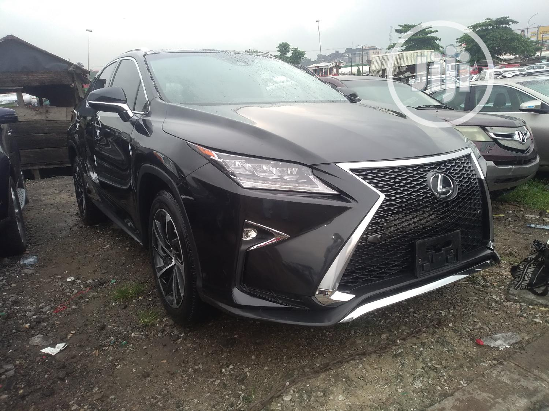 Lexus RX 2017 Black
