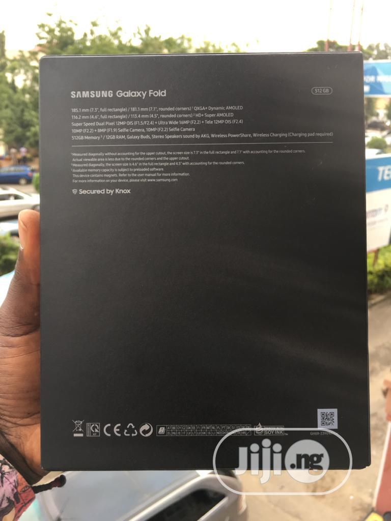 New Samsung Galaxy Fold 512GB Silver | Mobile Phones for sale in Wuse 2, Abuja (FCT) State, Nigeria