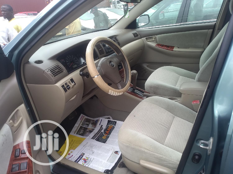 Toyota Corolla 2006 1.4 VVT-i Gray | Cars for sale in Apapa, Lagos State, Nigeria