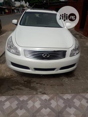 Infiniti G35 2008 White   Cars for sale in Lagos State, Alimosho