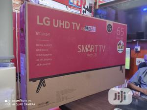2020 Made LG 65''inch Smart Tv UHD 4K Bluetooth Wifi Connect | TV & DVD Equipment for sale in Lagos State, Ojo