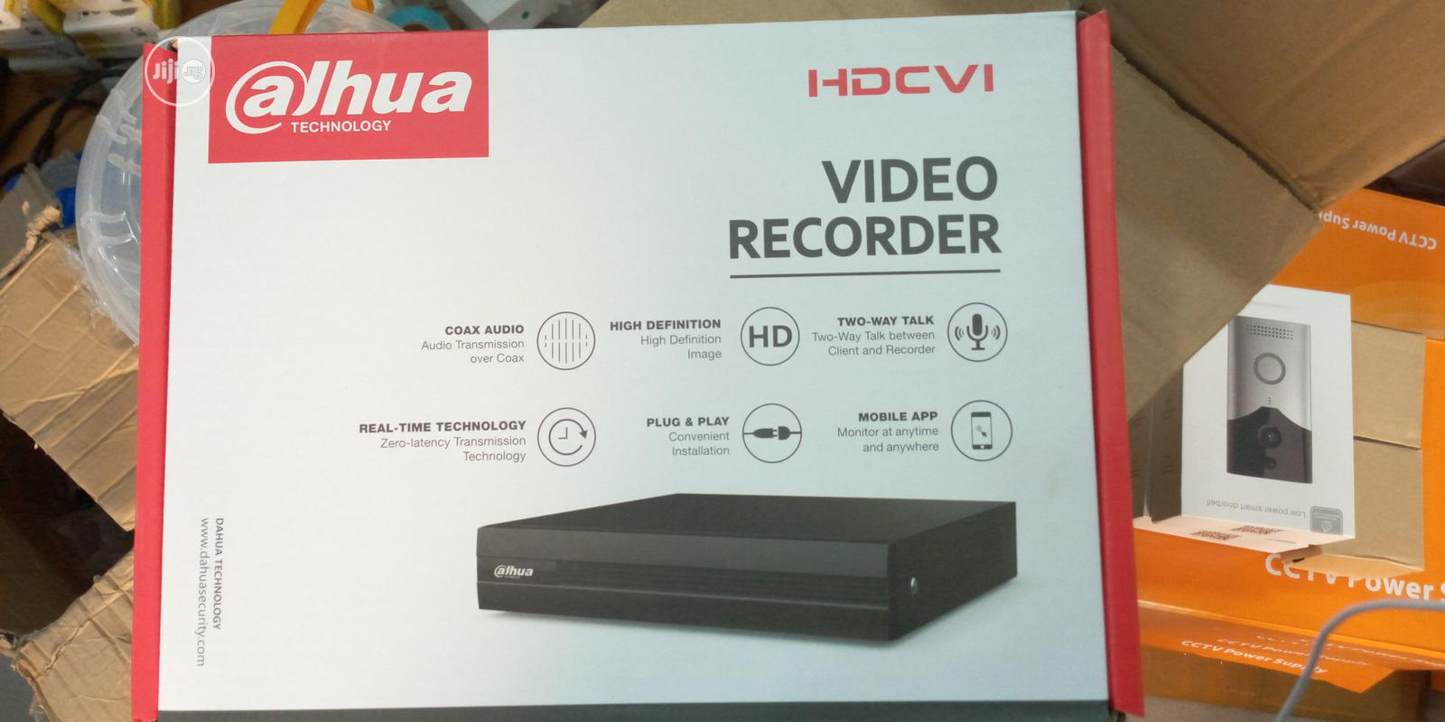 Dahua Hd Digital Video And Audio Recorder- 4 Channels