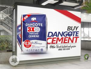 Dangote Cement - 300, 600, 900 Bags. Best Wholesale Price | Building Materials for sale in Lagos State, Yaba