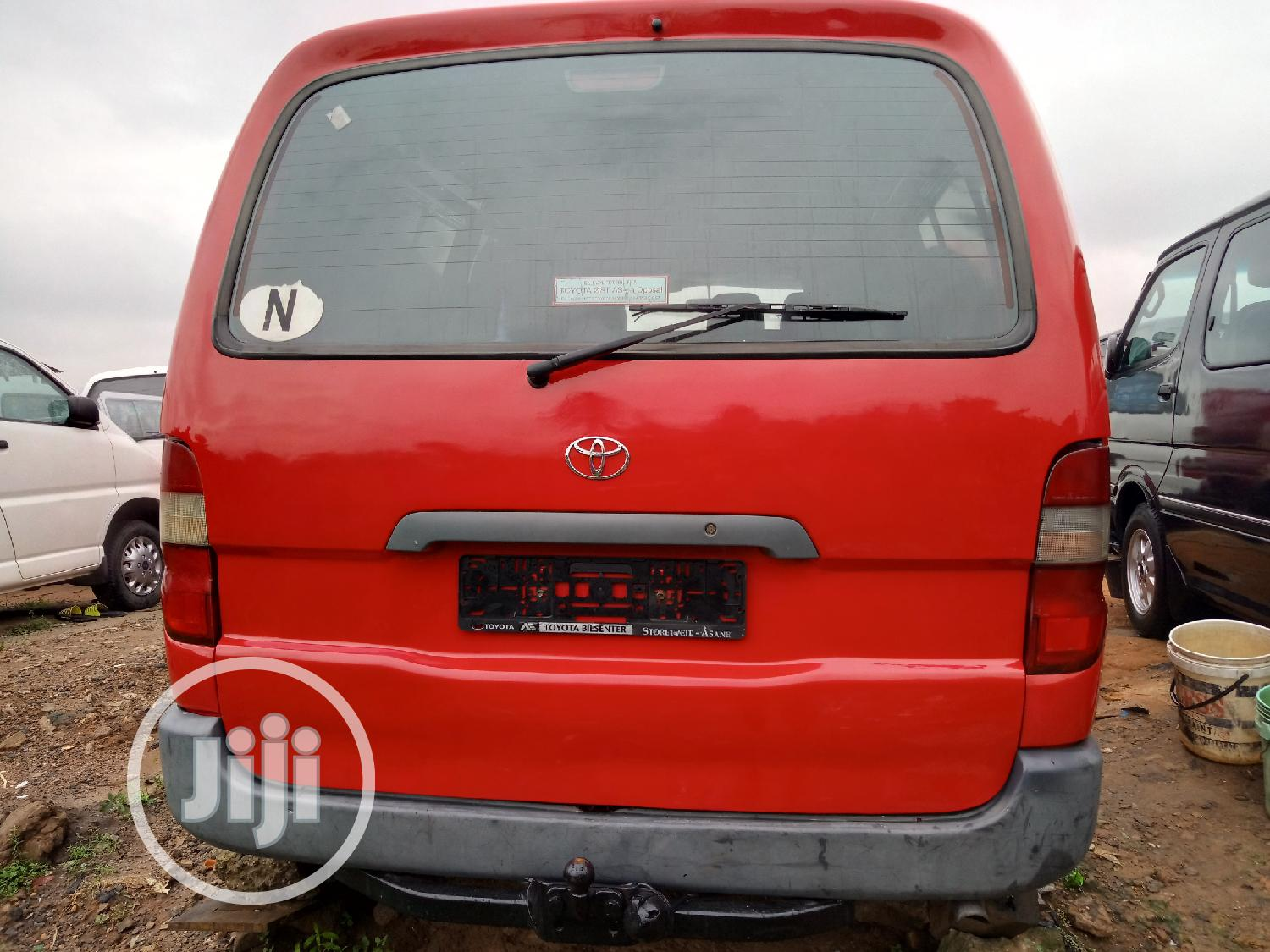 Toyota Hiace Bus Long Container Body   Buses & Microbuses for sale in Apapa, Lagos State, Nigeria