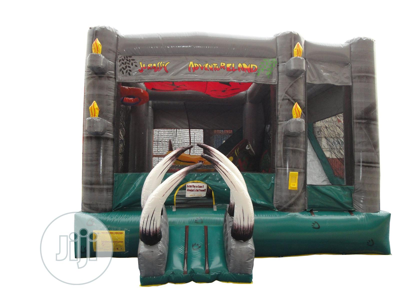 Massive Jurassic Adventure Bouncy Castle | Toys for sale in Wuse 2, Abuja (FCT) State, Nigeria