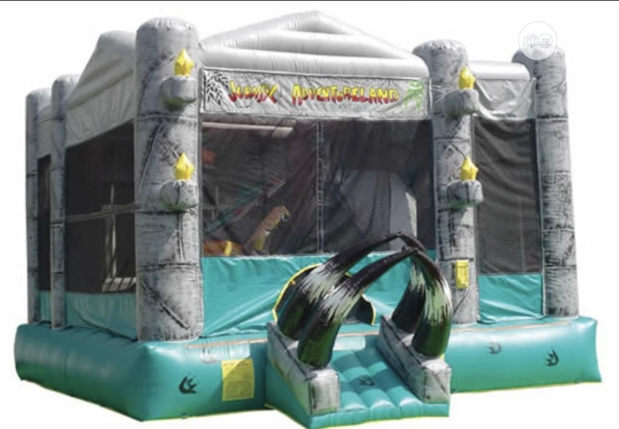 Massive Jurassic Adventure Bouncy Castle