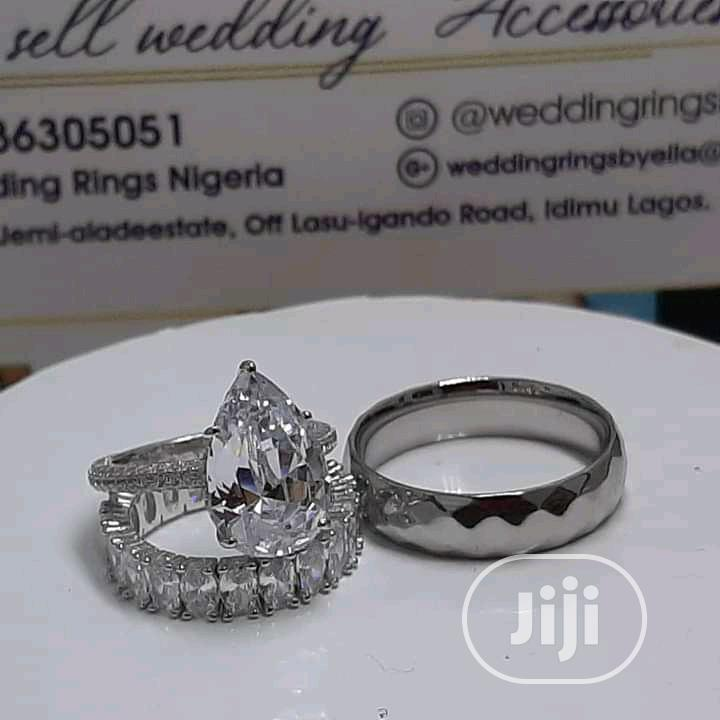 Archive: Classic Silver Wedding Ring Set
