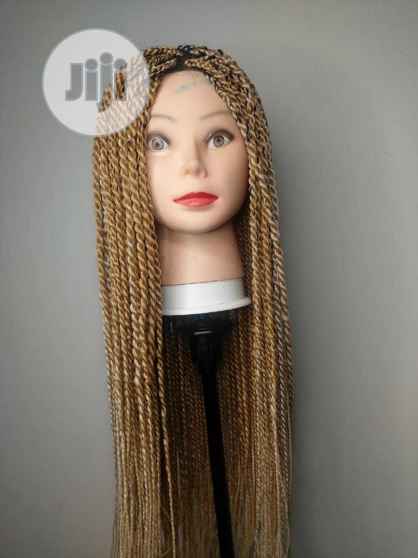 """Twisted Gold Braid Wig. 26"""""""