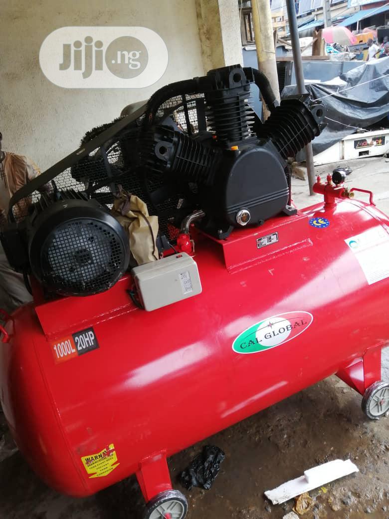 Industrial AIR Compressor 15kw 20HP 500L 100%C Opper