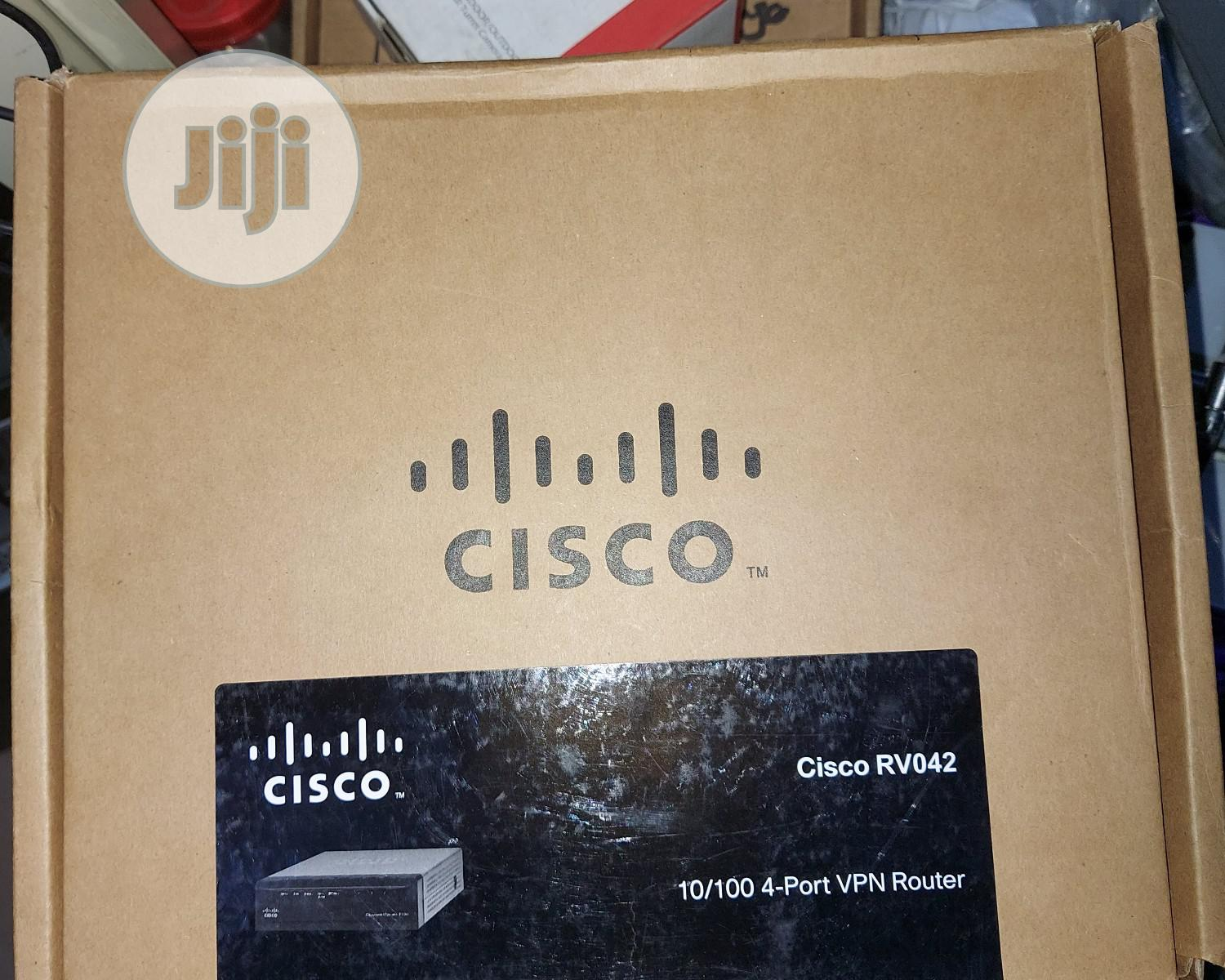 Cisco RV042 Dual WAN VPN Router | Networking Products for sale in Ikeja, Lagos State, Nigeria
