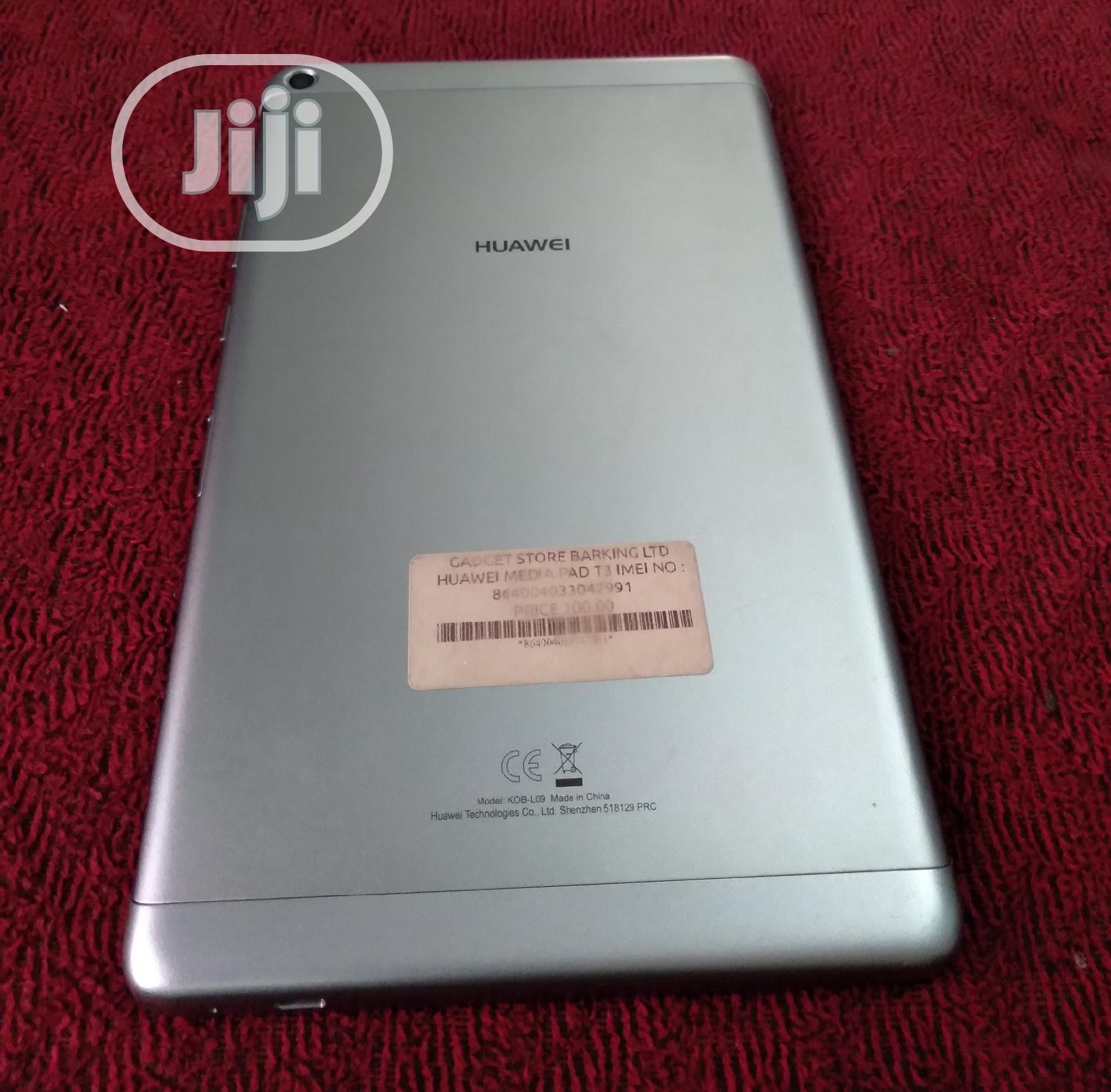 New Huawei MediaPad T3 8.0 16 GB Gray | Tablets for sale in Port-Harcourt, Rivers State, Nigeria