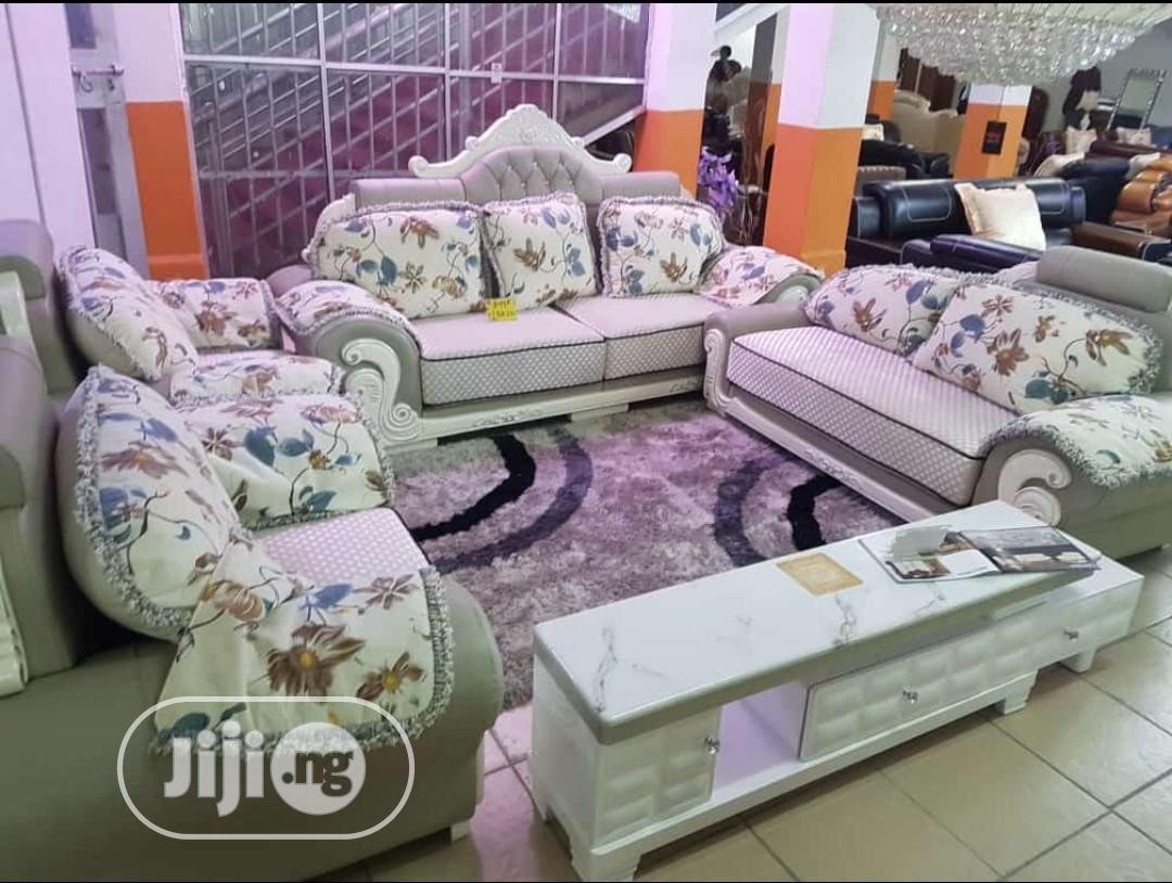 Italian Royal Fabric Sofa of High Quality Available for Sale
