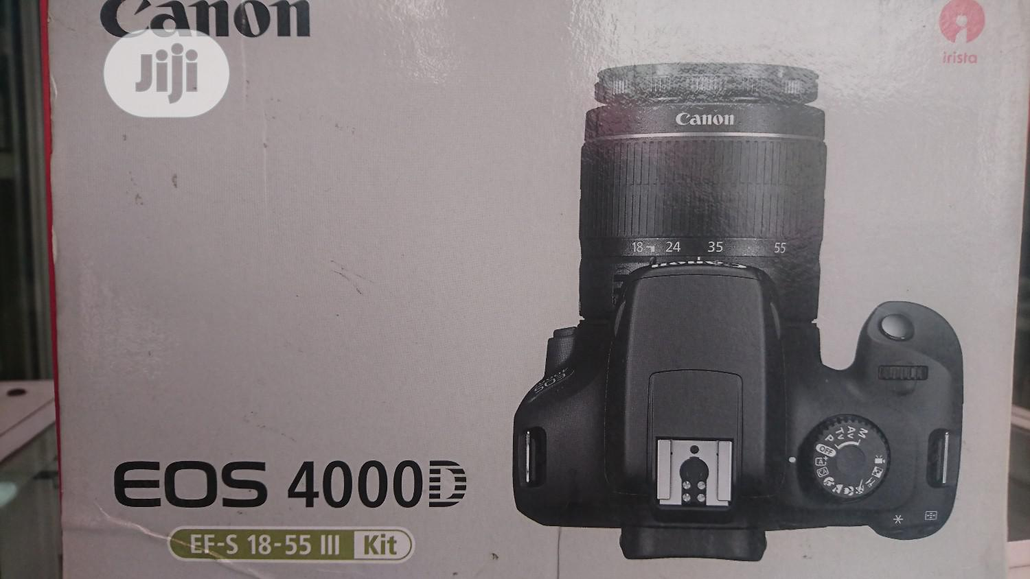 Canon 4000D Camera Brand New | Photo & Video Cameras for sale in Ikeja, Lagos State, Nigeria
