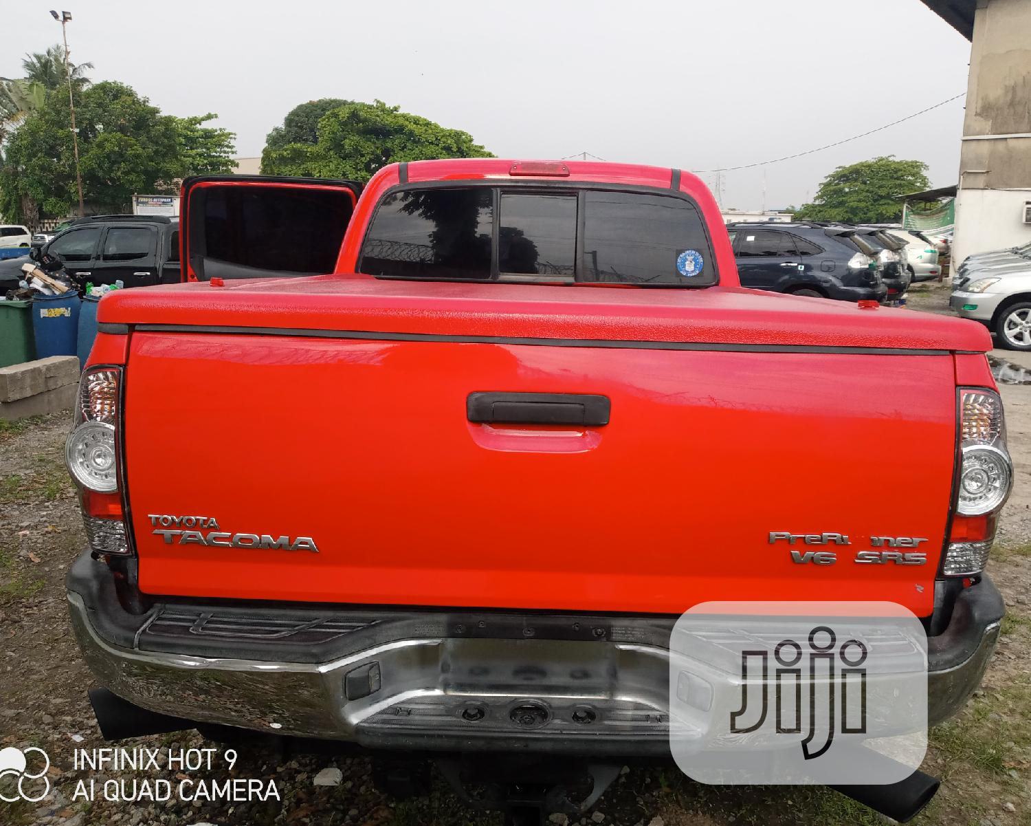 Toyota Tacoma 2006 Access Cab Red | Cars for sale in Apapa, Lagos State, Nigeria