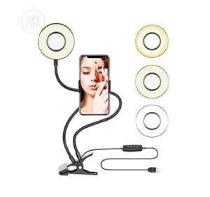 Professional Selfie Ring Light With Phone Holder | Accessories & Supplies for Electronics for sale in Lagos State, Ikeja