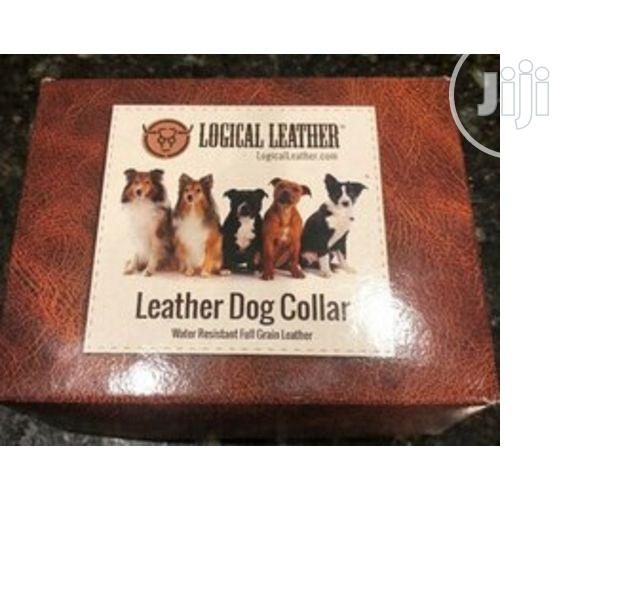Logical Leather Soft Touch Collars - Pure Leather Braided Do