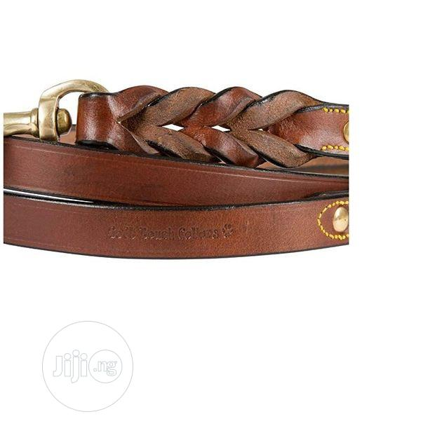 Logical Leather Soft Touch Collars - Pure Leather Braided Do | Pet's Accessories for sale in Amuwo-Odofin, Lagos State, Nigeria