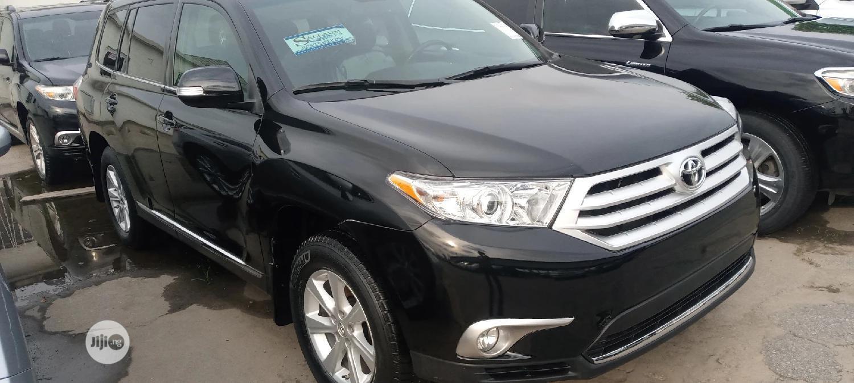 Toyota Highlander 2012 Limited Black