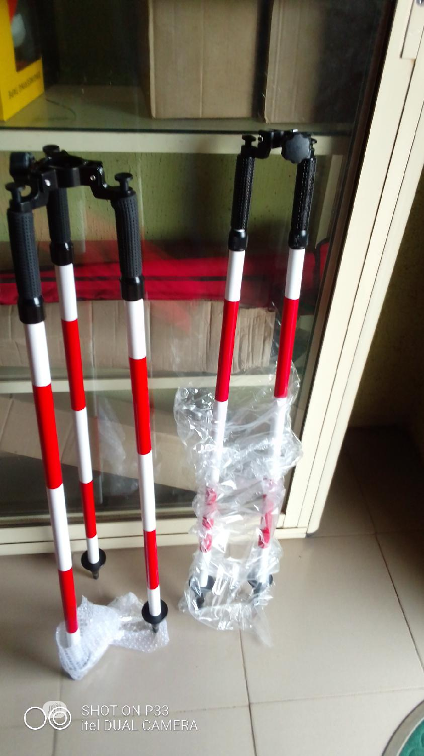 Bi Pod For Prism Pole | Measuring & Layout Tools for sale in Alimosho, Lagos State, Nigeria
