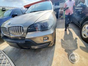 BMW X5 2008 4.4i Gold   Cars for sale in Lagos State, Ifako-Ijaiye