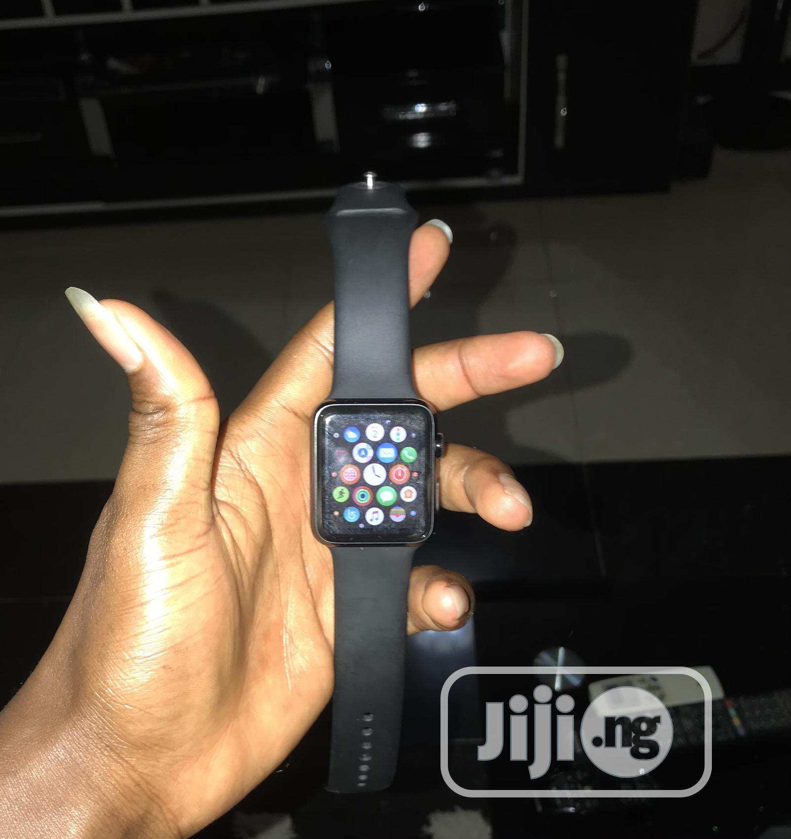 Apple Watch Series 1, Black Stainless Steel,42mm