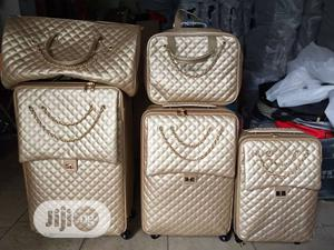 Quality Chanel Gold Luggage Set Of 5 | Bags for sale in Lagos State, Lagos Island (Eko)