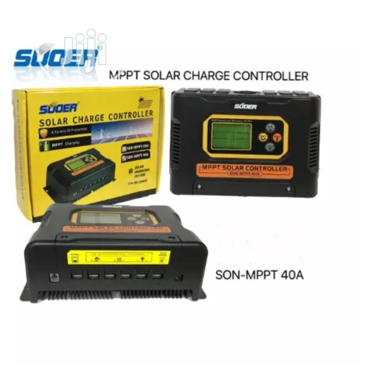Archive: Suoer Mppt Solar Charge Controller 12v 24v 48v 40A