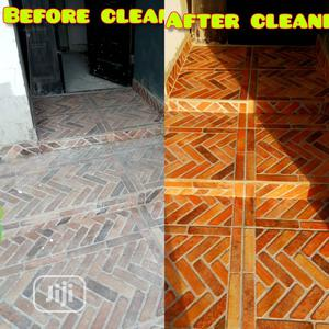 Washing Of Interlock And Concrete | Cleaning Services for sale in Lagos State, Lekki