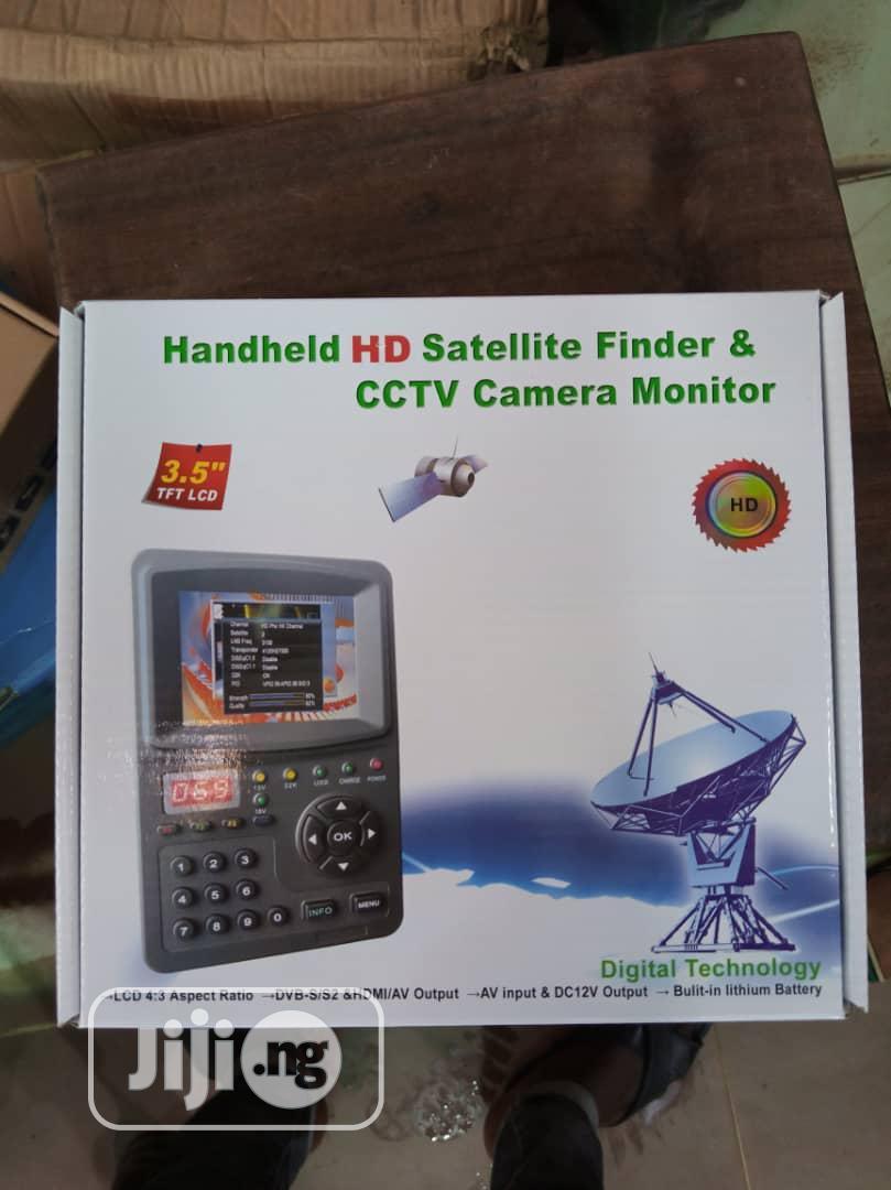 HD Satellite Finder and CCTV Camera Monitor