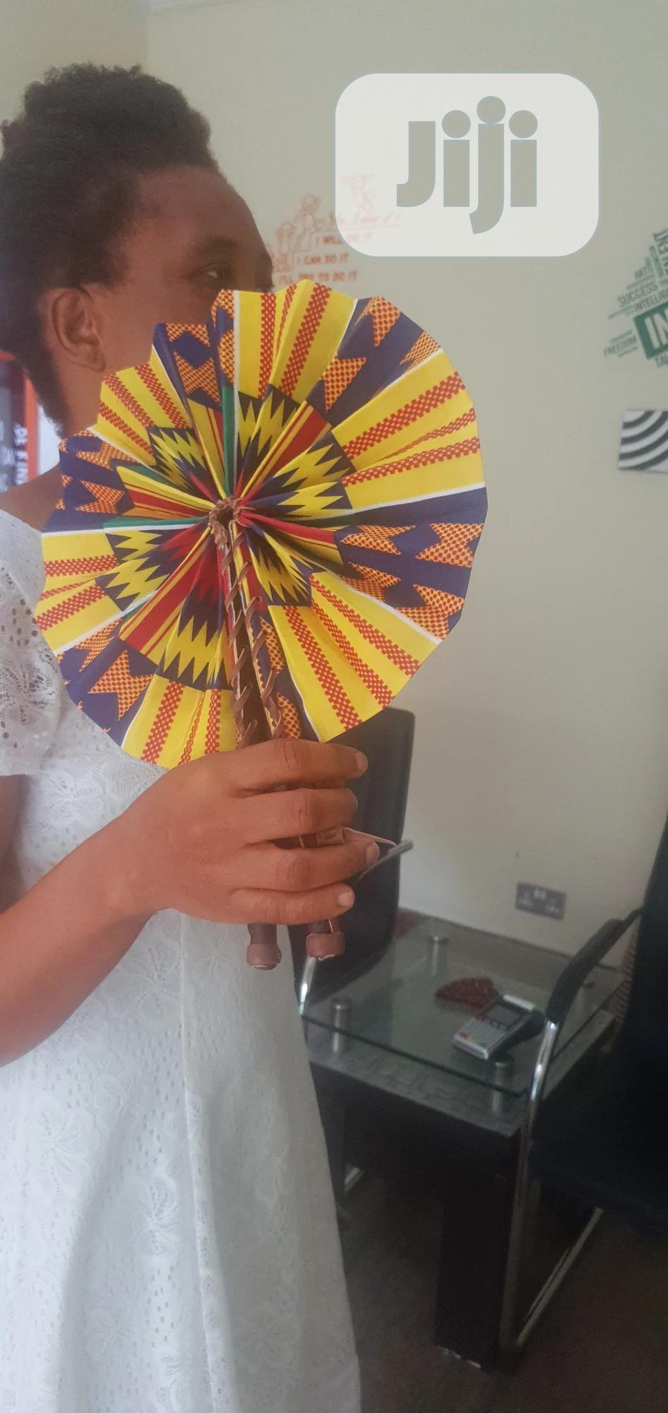 Foldable Handmade Hand Fan | Clothing Accessories for sale in Lekki, Lagos State, Nigeria