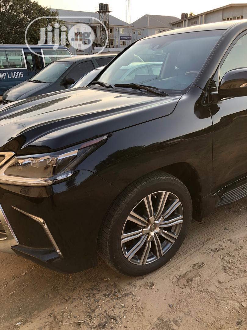Lexus LX 2017 570 Base Black | Cars for sale in Maitama, Abuja (FCT) State, Nigeria